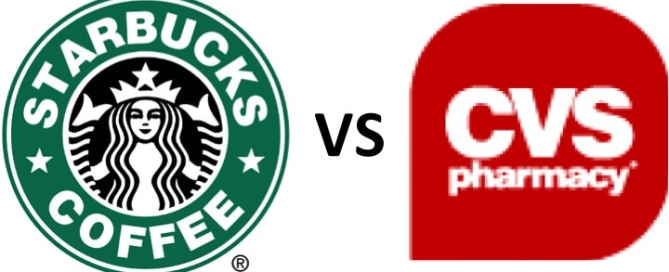 cvs vs starbucks