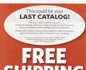 catalogs are dying